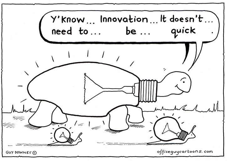 Slow Innovation