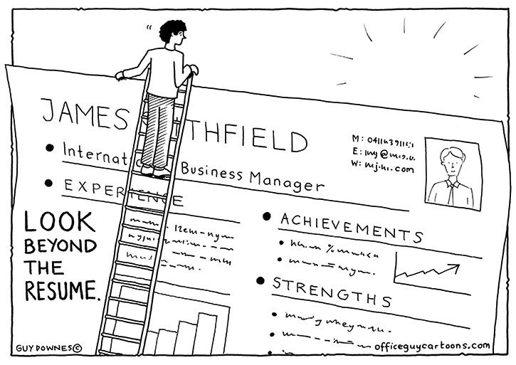 Look Beyond the Resume