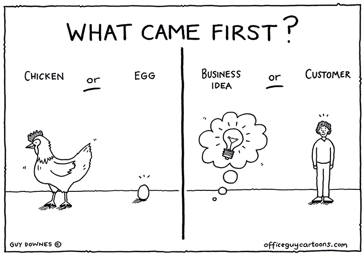 What came first?