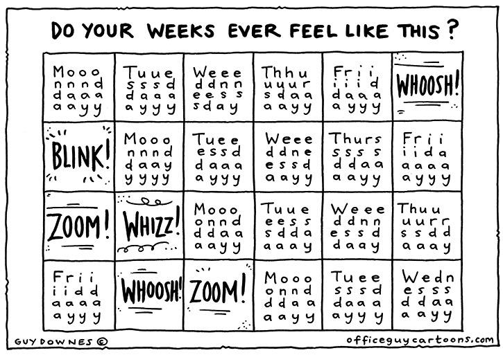 That Week Feeling