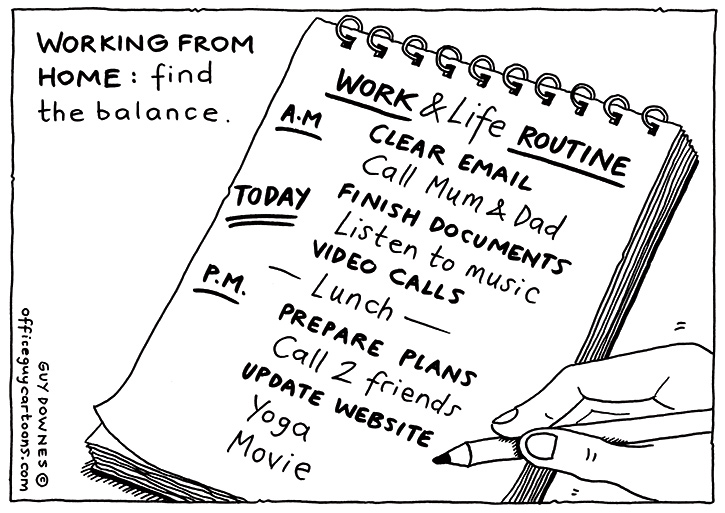 WFH: Find Balance