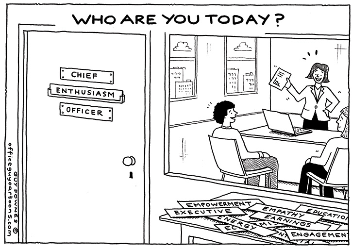 Who Are You Today?