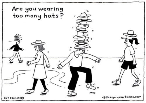Too many hats