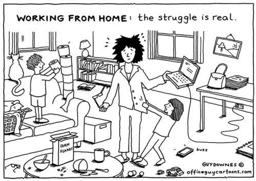 WFH: The Struggle